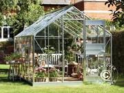 12, 1 m² Juliana Compact Plus greenhouse