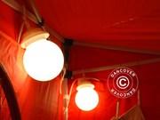 Globelight chain 10 lamps of 25 watts