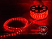 Rope light,  50m LED,  Red