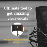 Buy Excellent Portable Vocal Booth For Recording Voice
