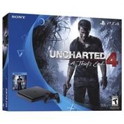 New Sony PlayStation 4 Slim 500GB Console - Uncharted 4 Bundle