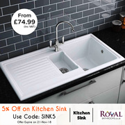 Extra 5% Off on Kitchen Sink
