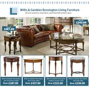 Price Drop Guarantee! Willis & Gambier Living,  Dining & Bedroom