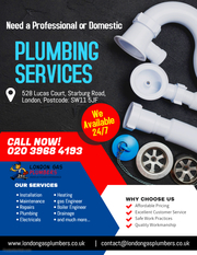 24 hours Plumbing service,  Emergency Plumber - 020 8877 3363